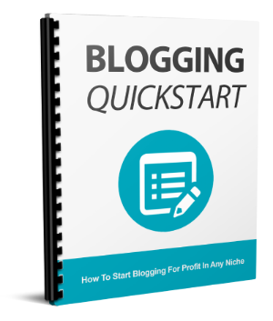 Blogging QuickStart